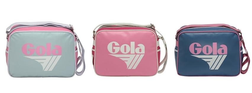 gola pink redford bag