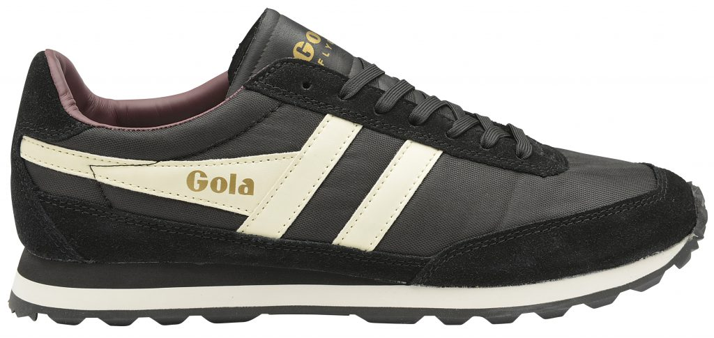gola classics men's black white flyer sneaker