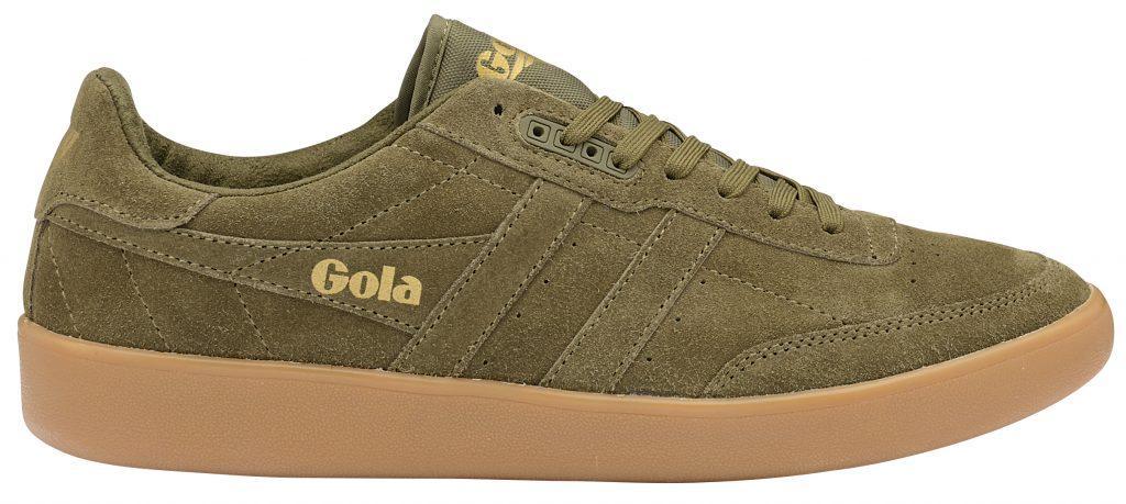 gola classics men's inca sneaker millerain khaki