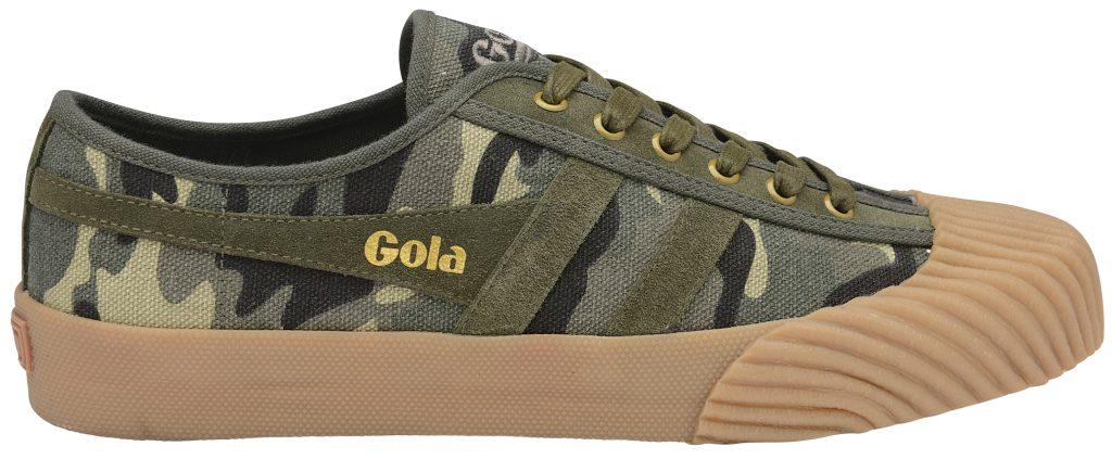 gola classics monarch camo print gum sole sneaker