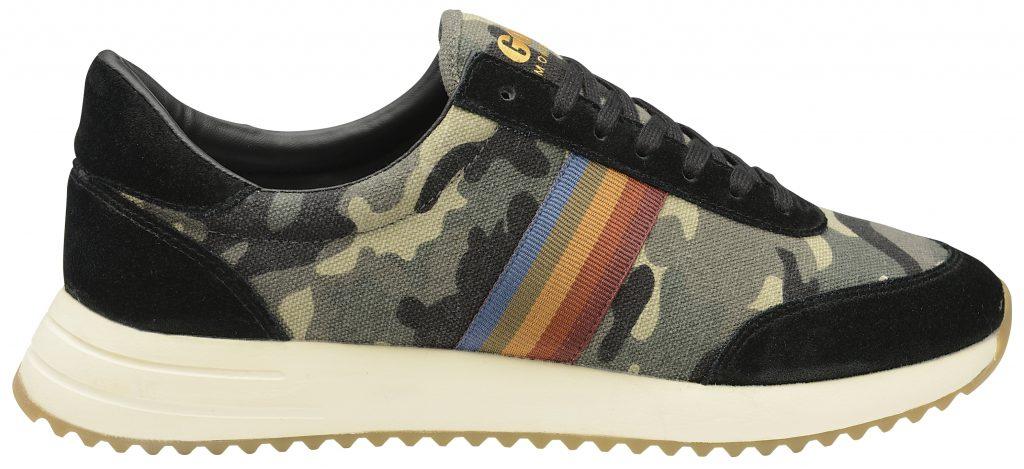 gola montreal rainbow camo print sneaker