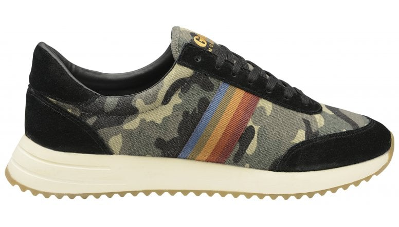 Montreal camouflage men's trainers gola
