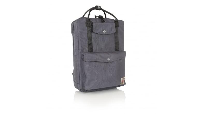 Gola Fransen Backpack Rucksack Freizeitrucksack Damen Grau Dark Grey Black Neu