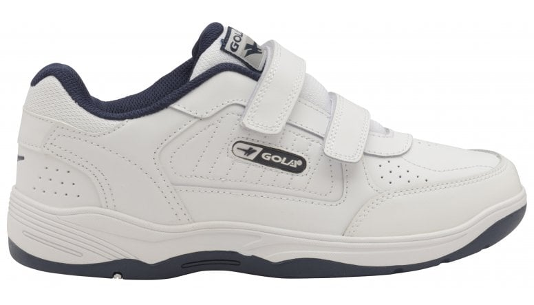 433cb79f7dbe8 Buy Gola infants Belmont Velcro trainers in white online