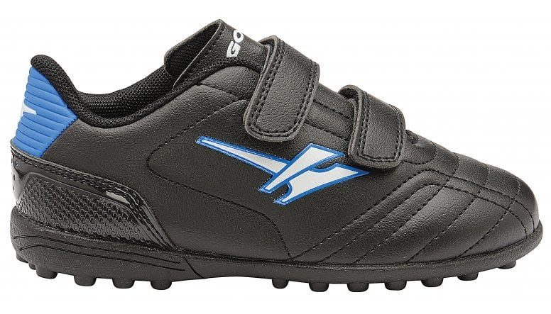 9c891a5b8825c Buy Gola infants Magnaz VX Twin Bar turf trainers in black/blue online