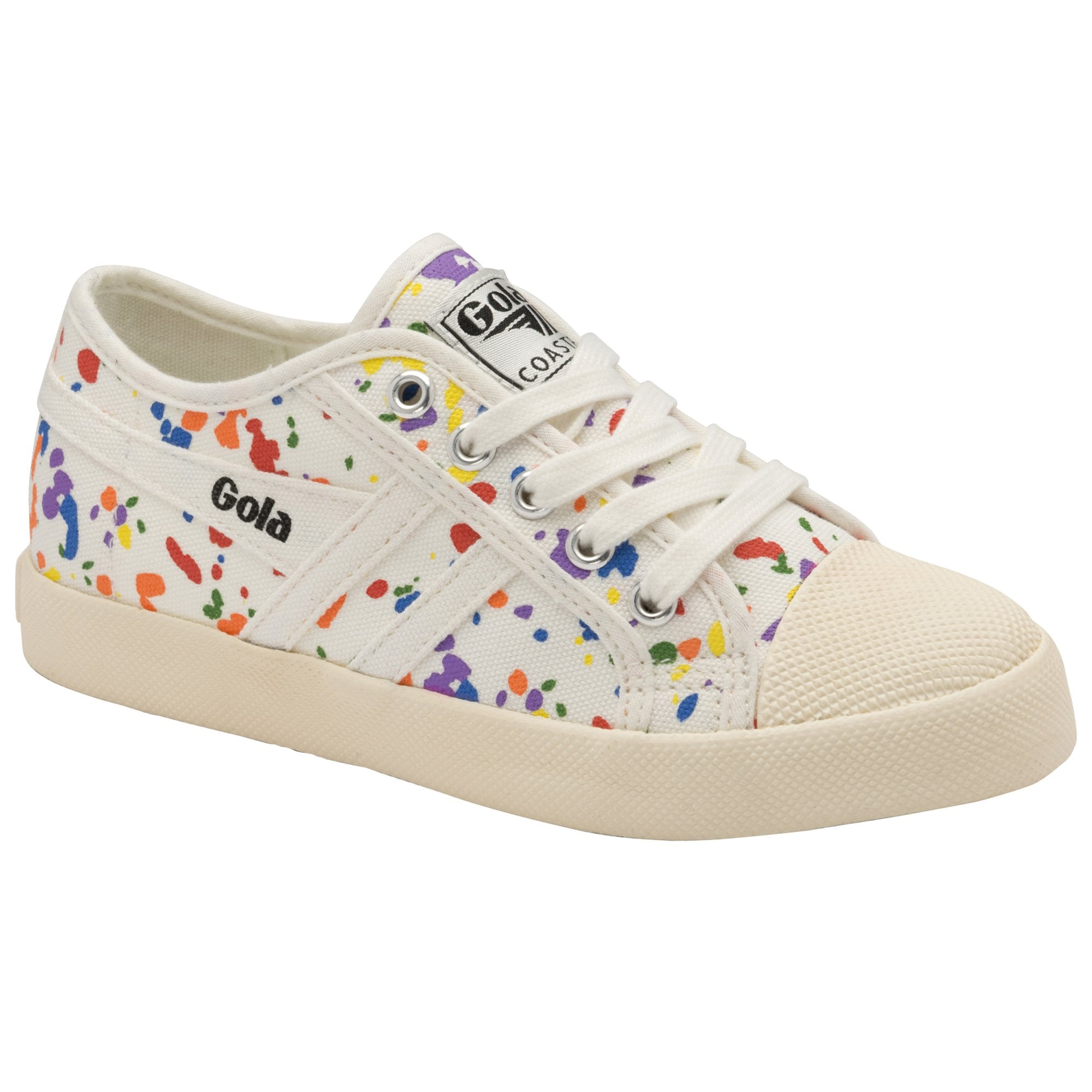 Buy Gola kids Coaster Splatter trainers