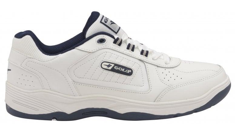 2cd39496e84fbd Buy Gola Men's Belmont lace WF white trainers online at gola.co.uk