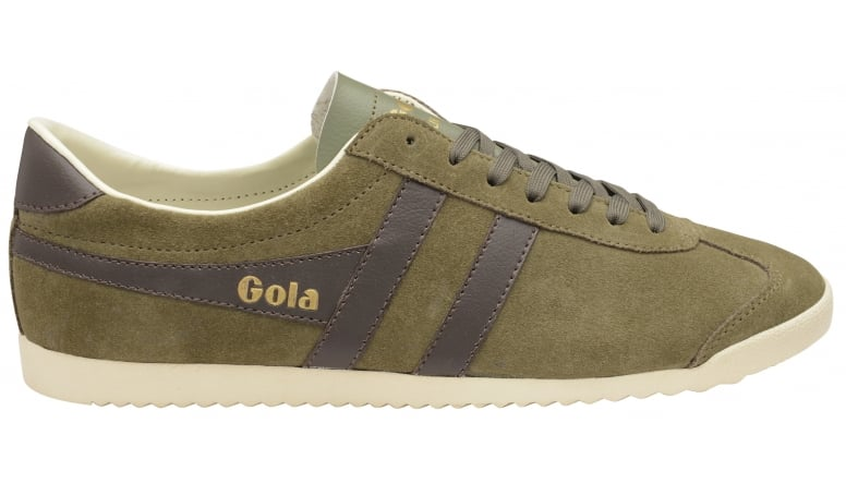 Mens Bullet Suede Indian Stone/Navy Trainers Gola vIOqd2