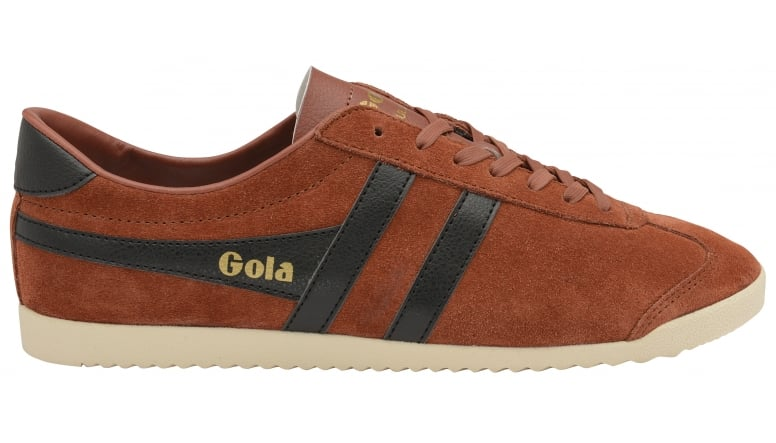 Mens Bullet Suede Rust/Black Trainers Gola