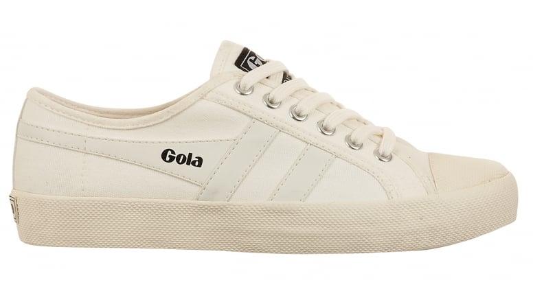 Mens Coaster Velcro White Trainers Gola gL9Ood