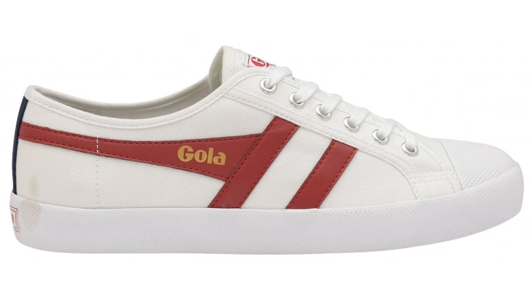 Men Coaster White/Red/Navy Sneakers Gola Free Shipping Prices Exclusive Cheap Sale 2018 New dwcKOUT