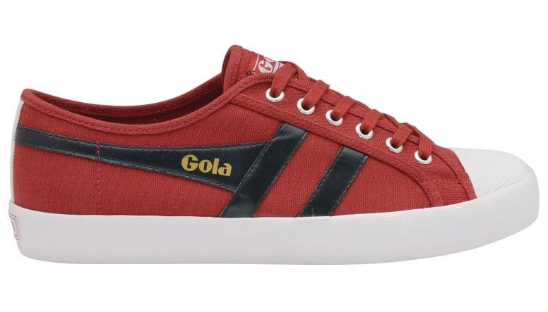Men Coaster White/Red/Navy Sneakers Gola EzsMFIZUU