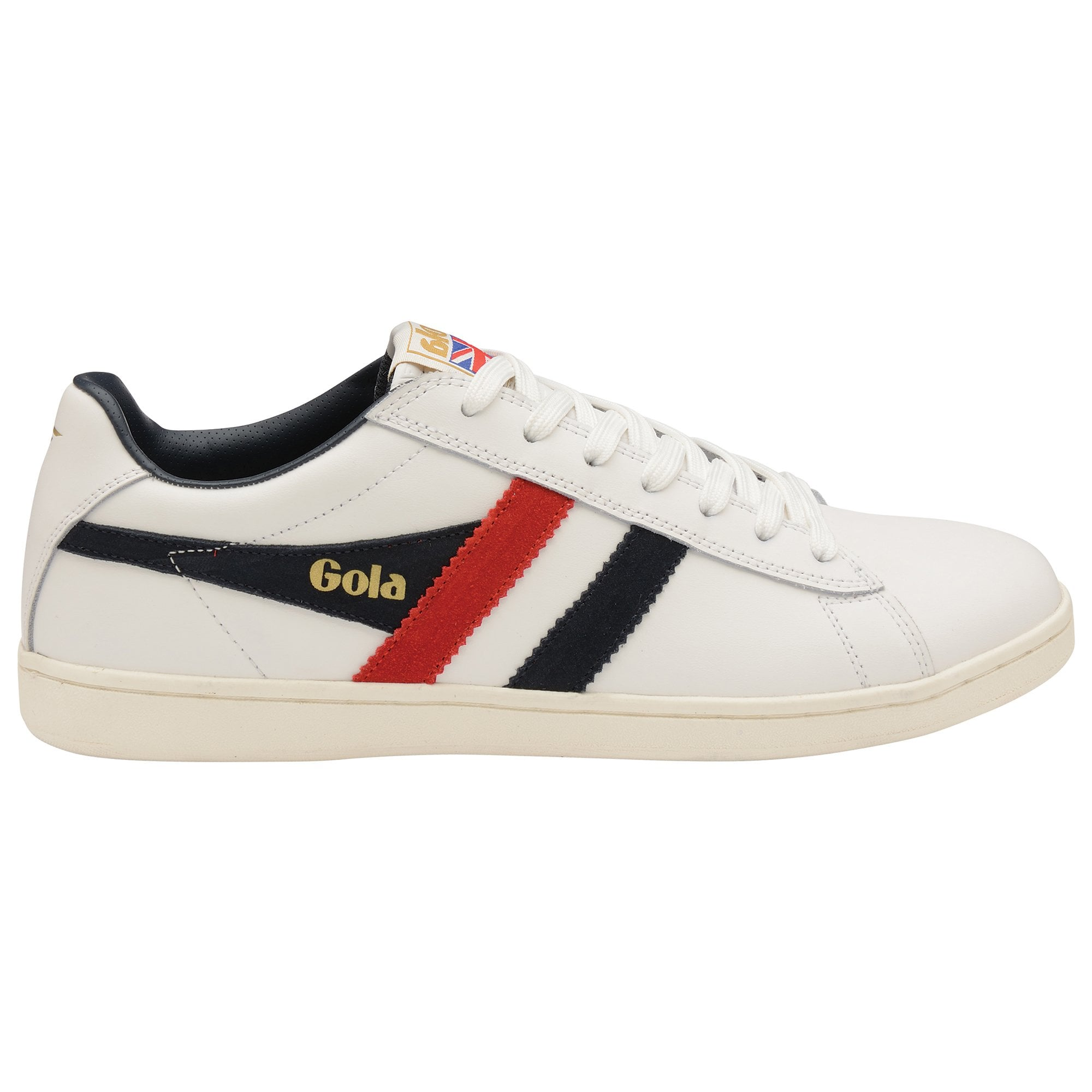 Buy Gola Equipe white/navy/red trainers