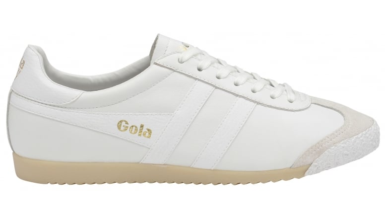 0a93947c848 Buy Gola mens Harrier 50 Leather trainer in white online at gola.