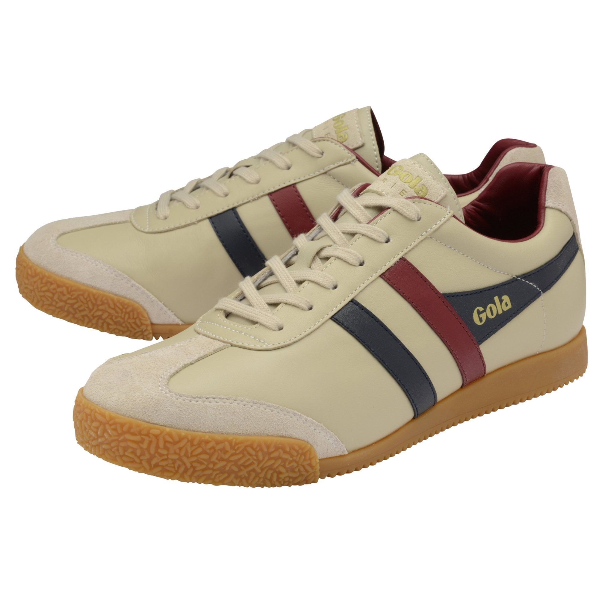 Buy Gola mens Harrier Leather trainers