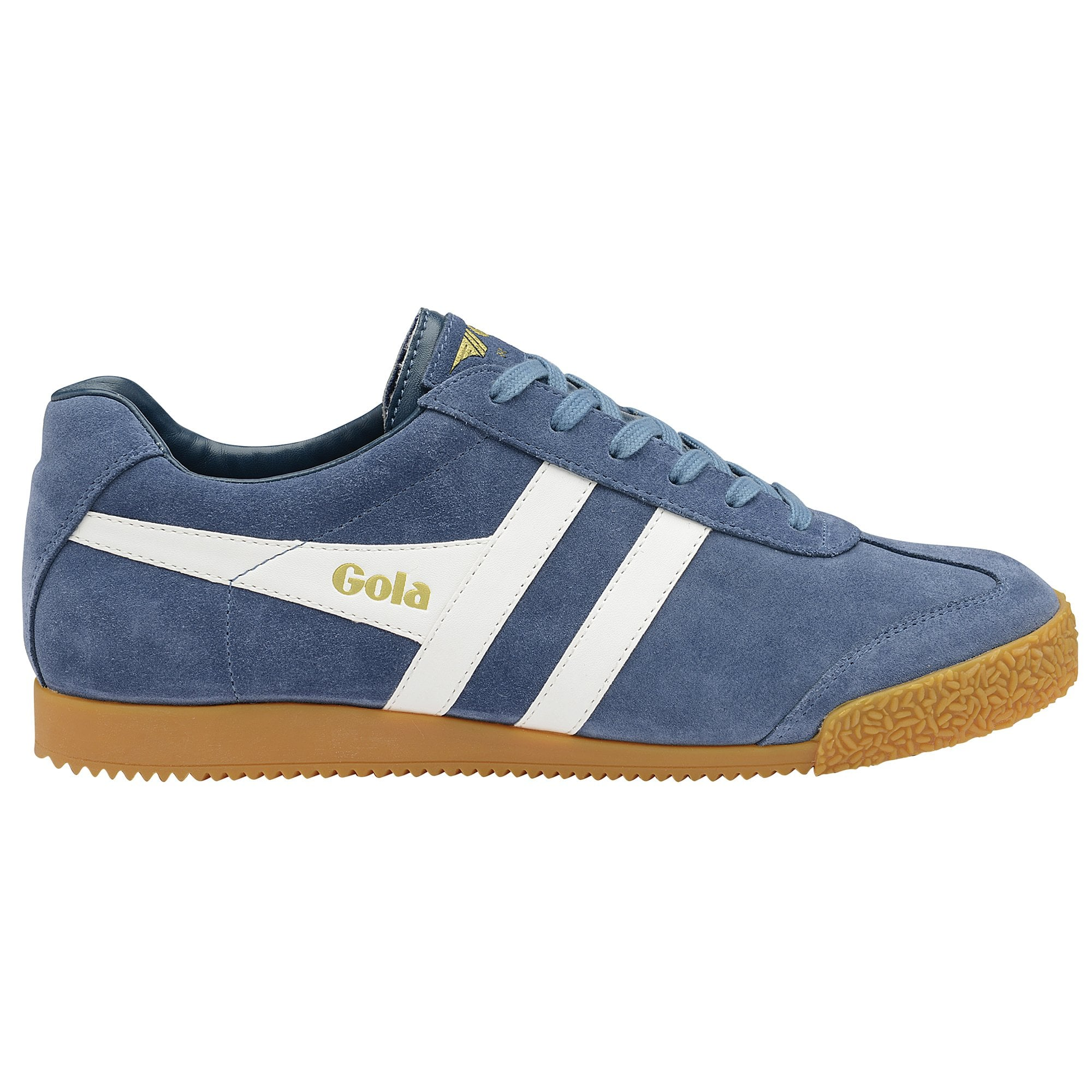 Gola Classics Harrier Mens Suede Trainers In Beige Size UK 6-12