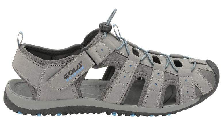 94bdeb0731c20 Buy Gola mens Shingle 3 Sandals in grey/black/blue online at gola