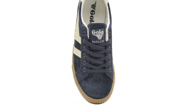 97d4346afa0a0 Buy Gola Mens Tennis Mark Cox Suede trainer in navy/off white online