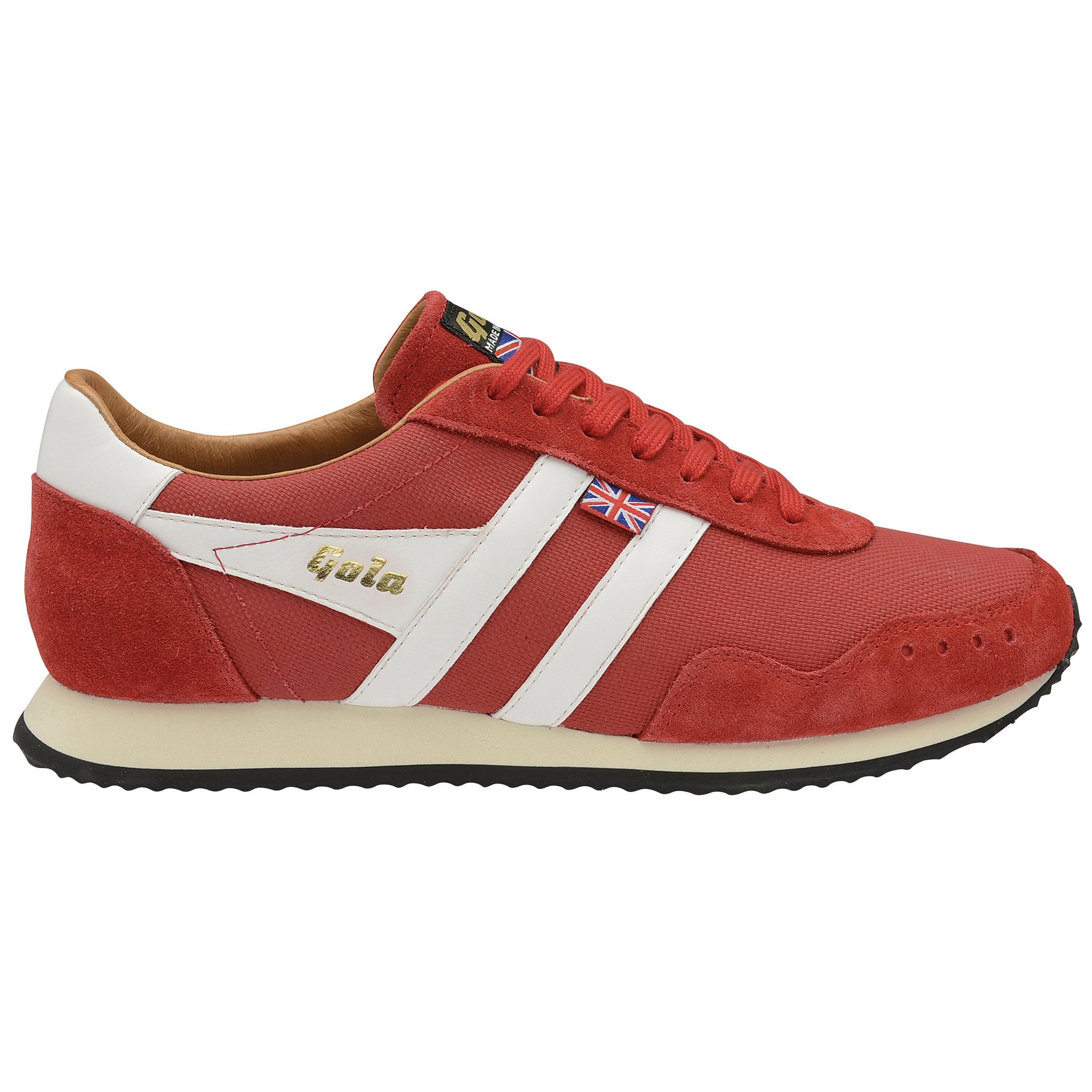 Buy Gola Track Mesh 317 trainers in red