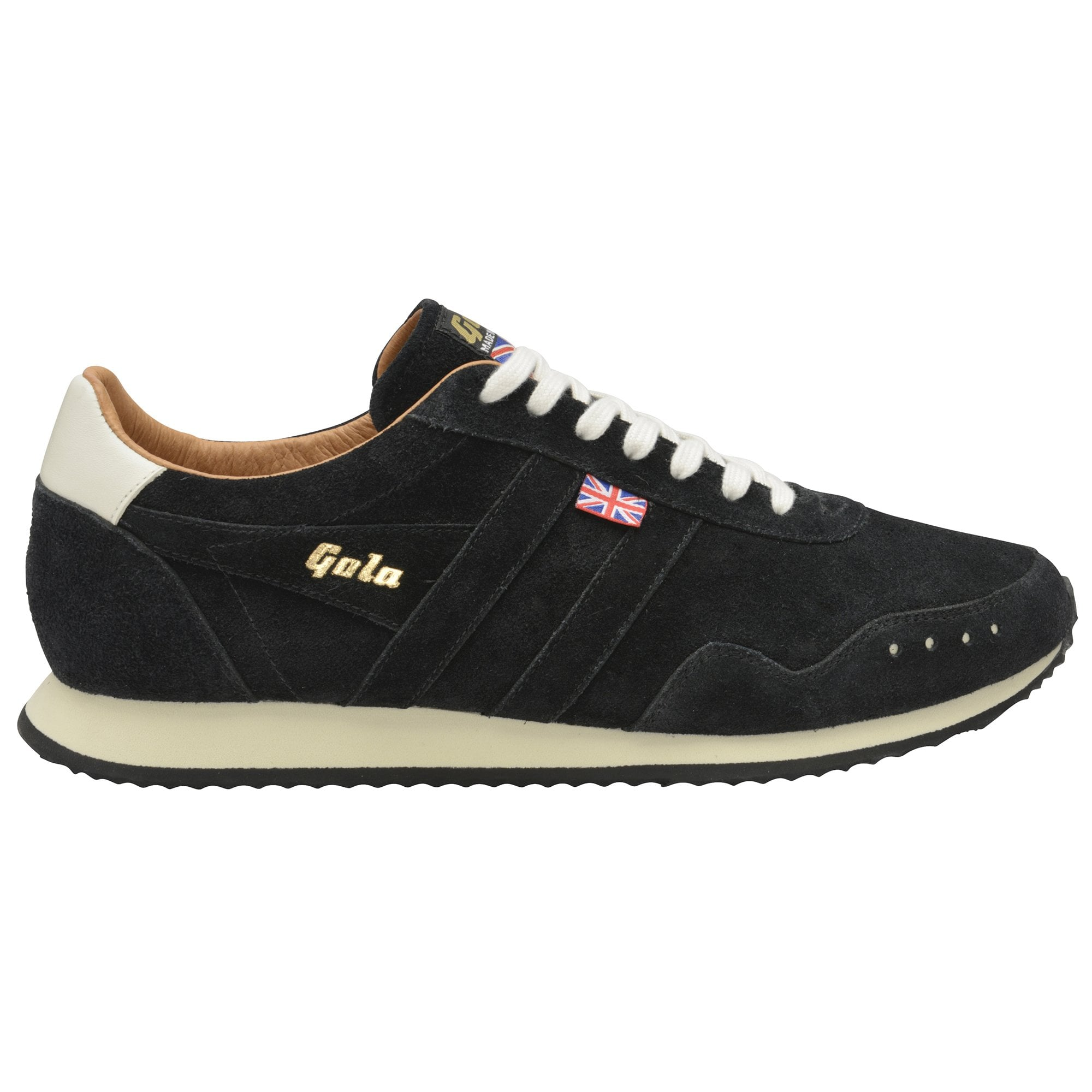 Gola Track Suede 317 trainers in black