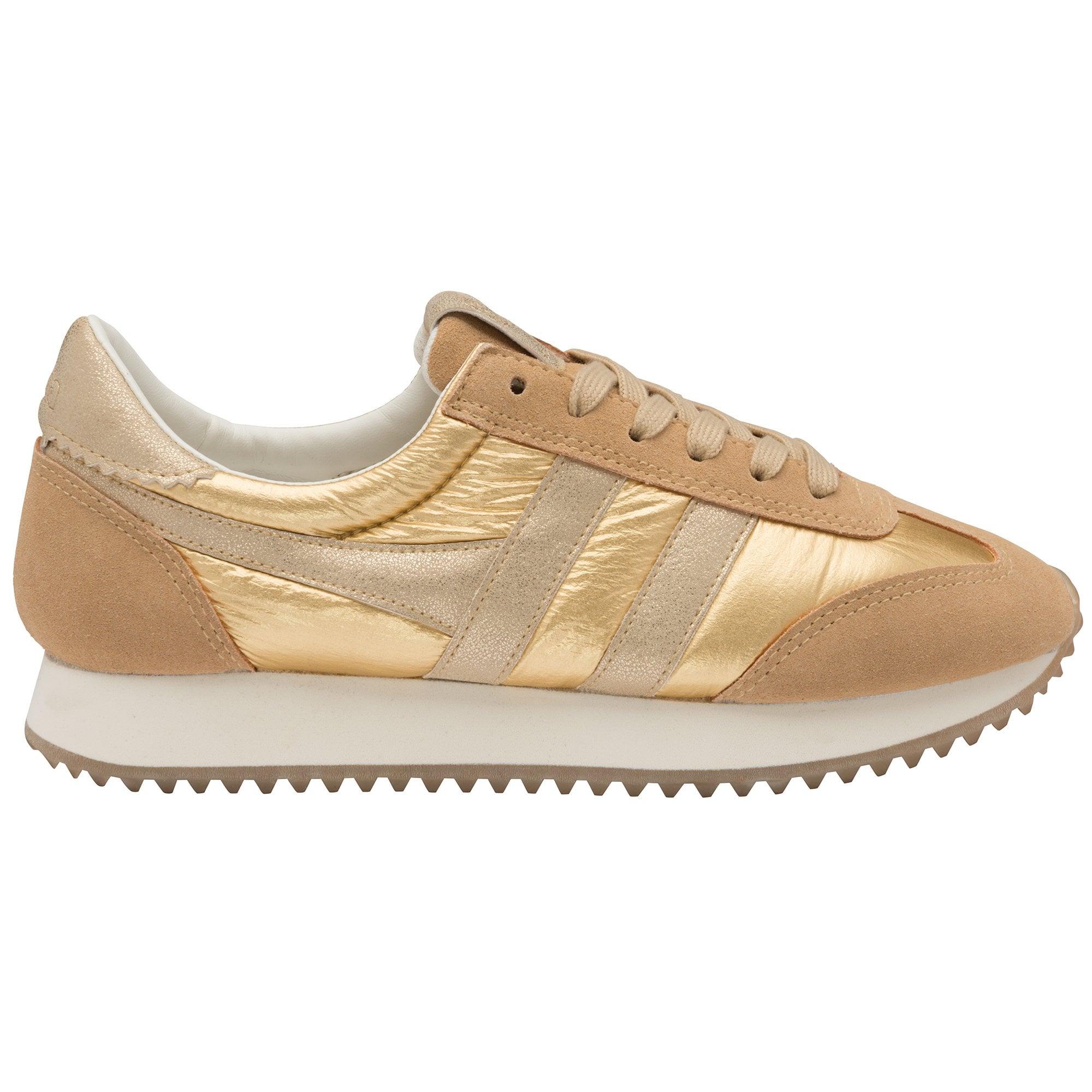metallic womens trainers