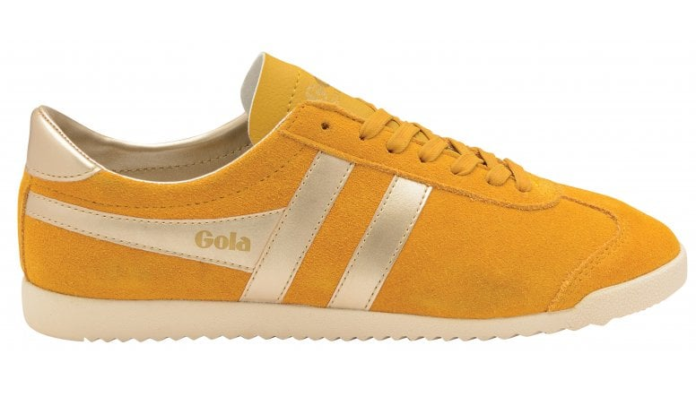 48f6ae14e8f Buy Gola womens Bullet Pearl trainer in sun online at gola.co.uk
