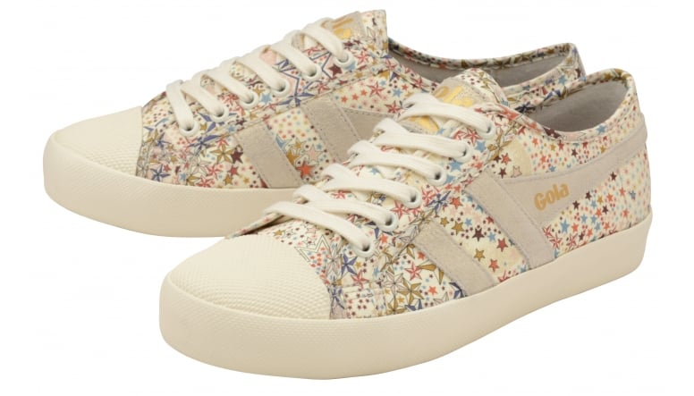 Womens Bullet Liberty Ad Off White Trainers Gola TvcmmB