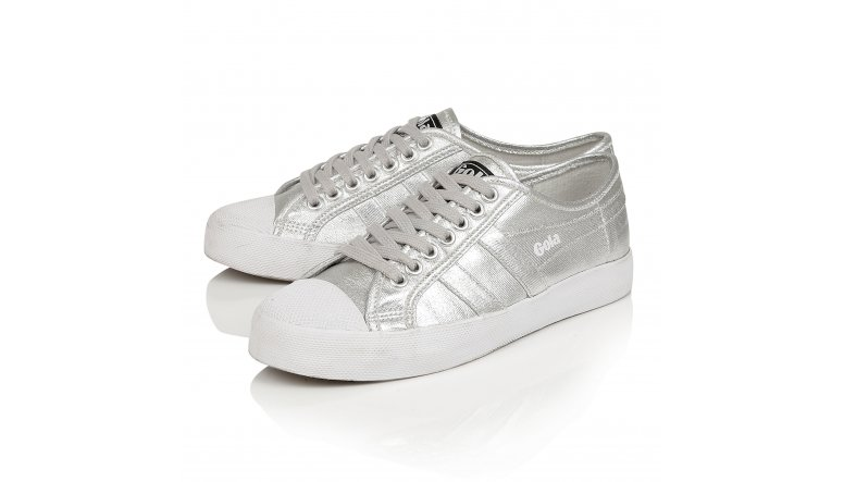 ... Gola Classics Women's Coaster Metallic Trainer ...