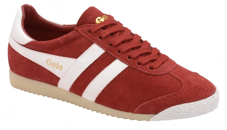 Womens Harrier 50 Suede Red/White Trainers Gola bVN06